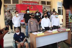 Kurang dari 24 Jam, Pelaku Begal korban Mahasiswa di Tangkap Sat Reskrim Polres Lebak Polda Banten