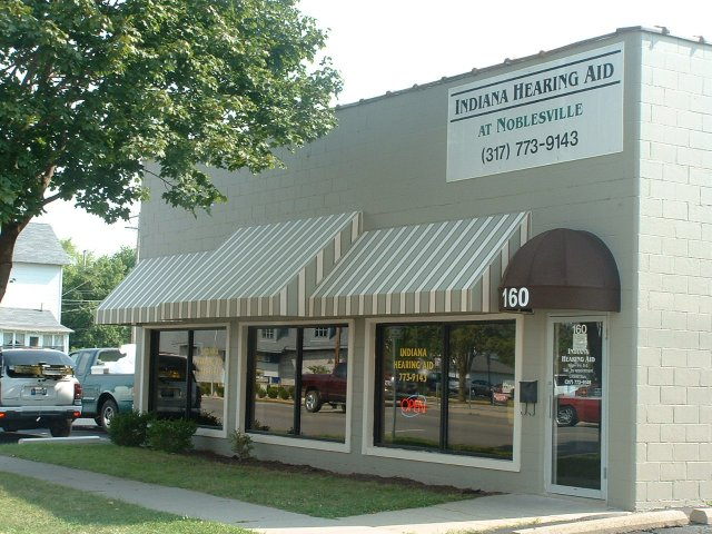 Indianapolis Shed Awning for a Nobelsville Commercial Business #awnings