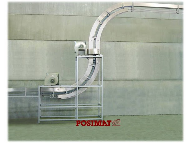 Vertijet 90 degree Air Conveyor without Accumulation