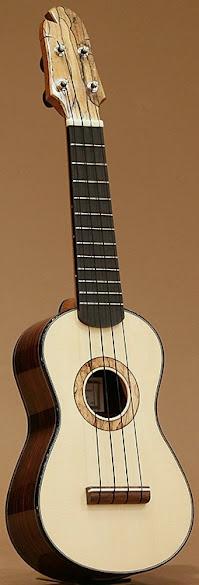 Hiroshi Ogino Guitars Soprano Ukulele
