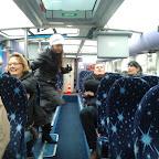 het interieur van de volvo amfibie bus van Lovers