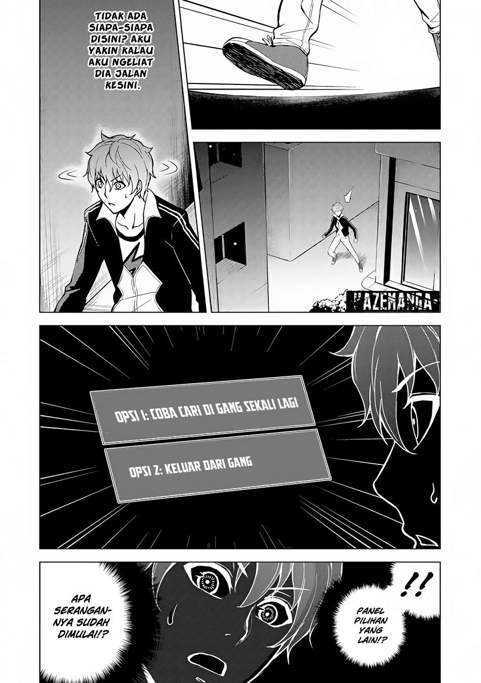 Ore no Genjitsu wa Renai Game?? ka to Omottara Inochigake no Game datta: Chapter 09.2 - Page 2