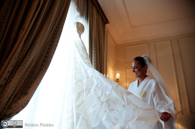Foto de casamento 0245 de Julia e Rafael. Marcações: 28/11/2009, Casamento Julia e Rafael, Rio de Janeiro.