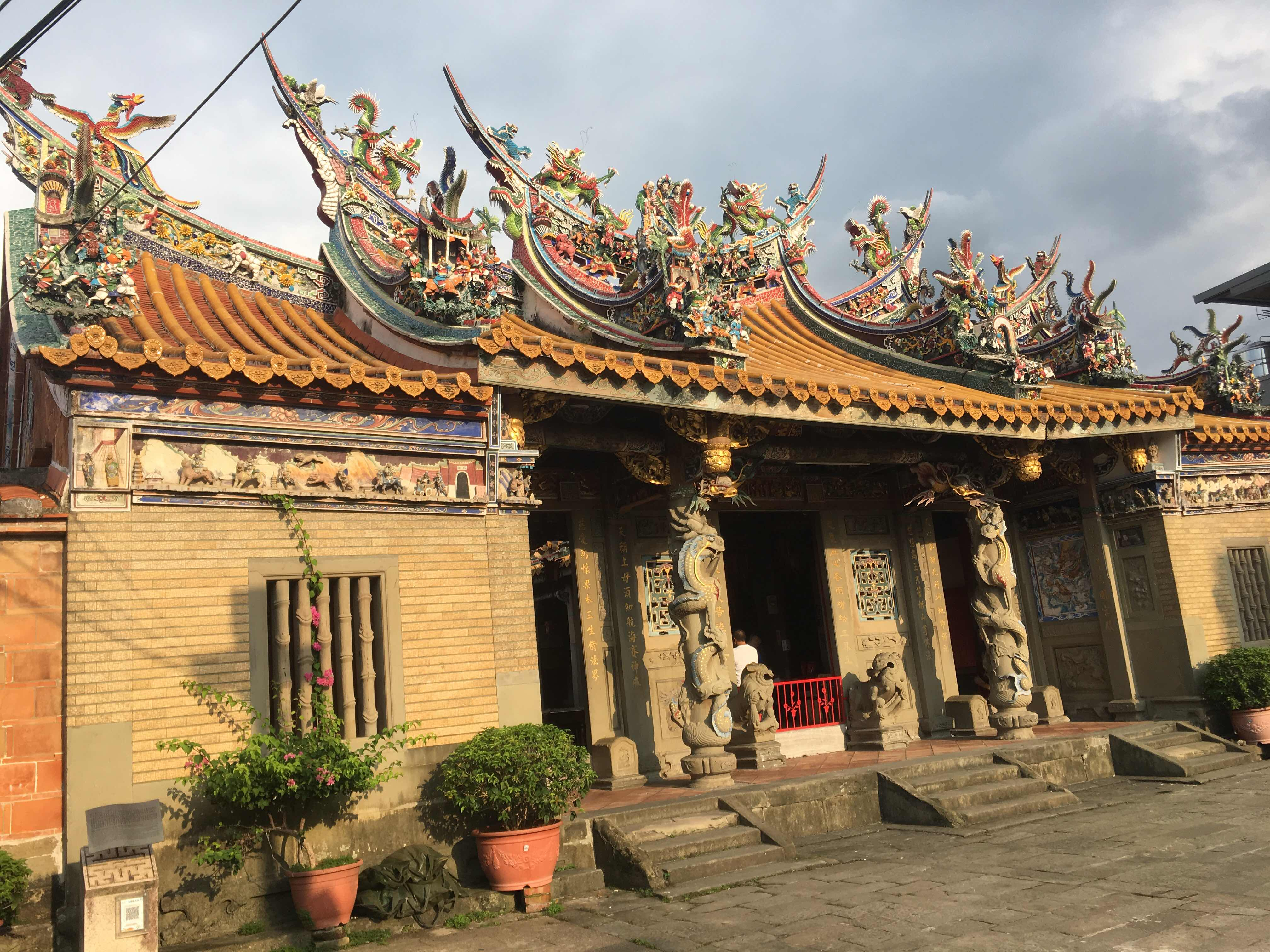 beipu old street beipu hakka culture hakka village hsinchu Taiwan citian temple