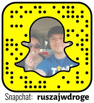 Ruszaj w Drogę - nasze konto na Snapchat