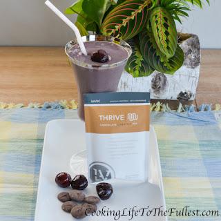Chocolate Covered Cherry Shake