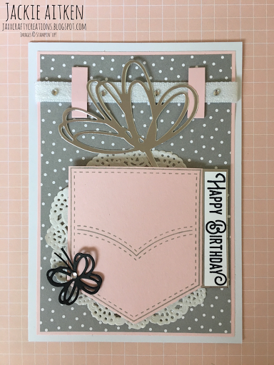 pocketful of sunshine, stampin up