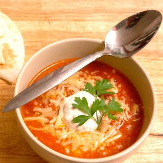 Mexican Habanero Tomato Soup