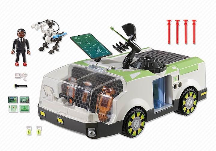 Contenido real de Playmobil® 6692 Camaleón con Gene