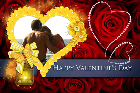 Valentines Love Photo Frames