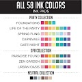Full Collection Ink Pads (58)