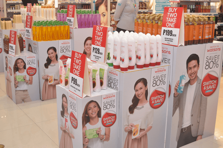 Switch and Save with Watsons, Win a Switcher Surprise!
