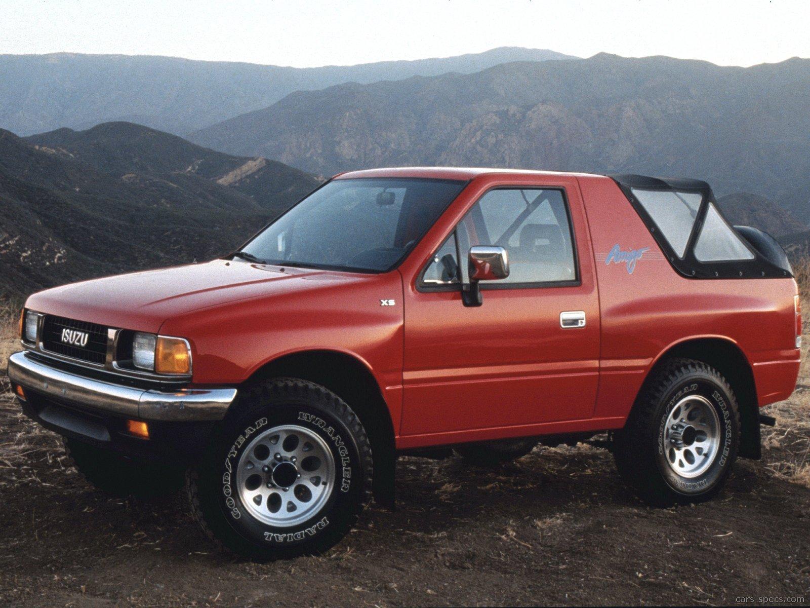 1993 isuzu amigo s w soft top 2dr suv 2 3l 4 cyl 5 speed manual