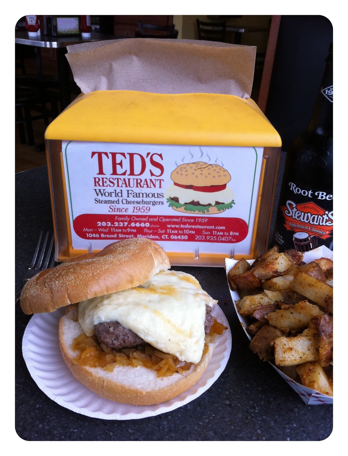 Come dine with me ted 39 s restaurant ct for Ted s fish fry menu