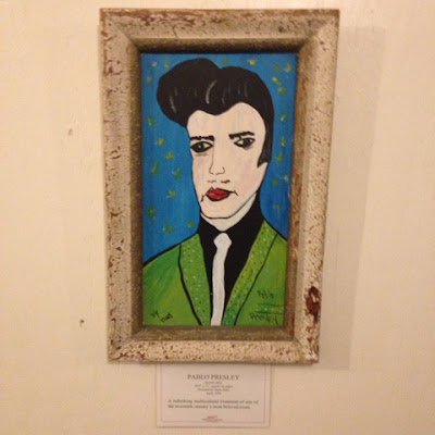 Pablo Presley at the Museum of Bad Art