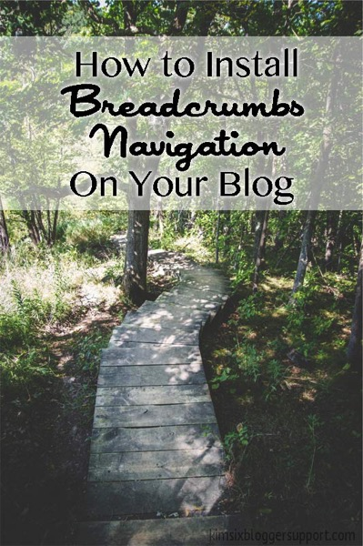 How to Install breadcrumb navigation on your blogger blog