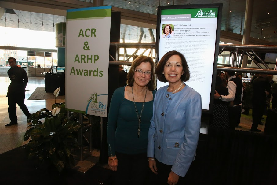 UNC TARC's Dr  Leigh Callahan receives Lifetime Achievement Award