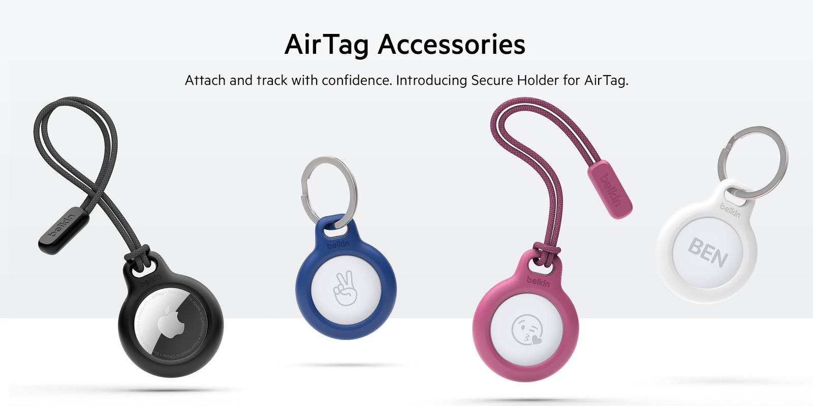 Belkin เปิดตัว Belkin Secure Holder for AirTag เคสสุดคูลเอาใจสาวก Apple สำหรับอุปกรณ์ติดตามสิ่งของ Apple AirTag