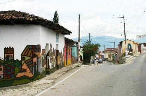 Entrada a la ciudad de La Palma