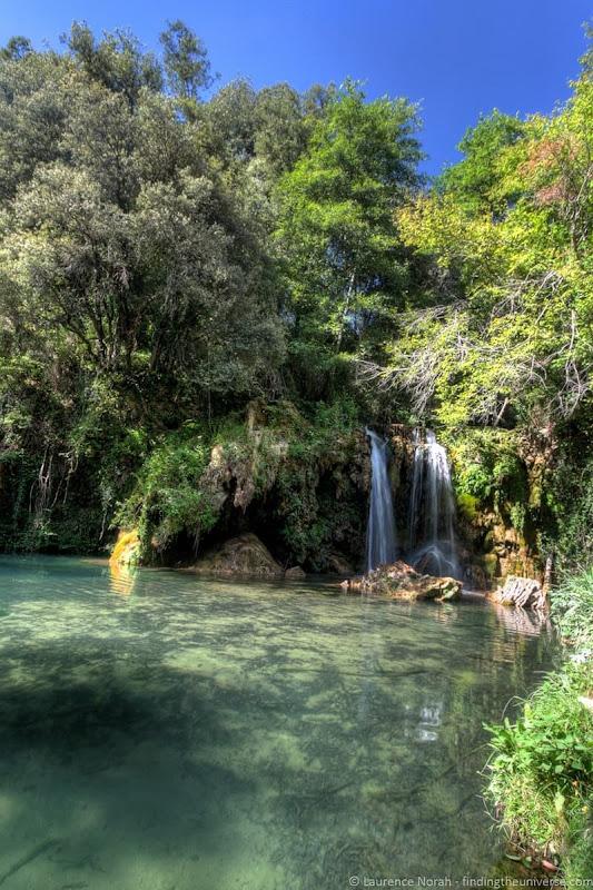 waterfall costa brava - scaled