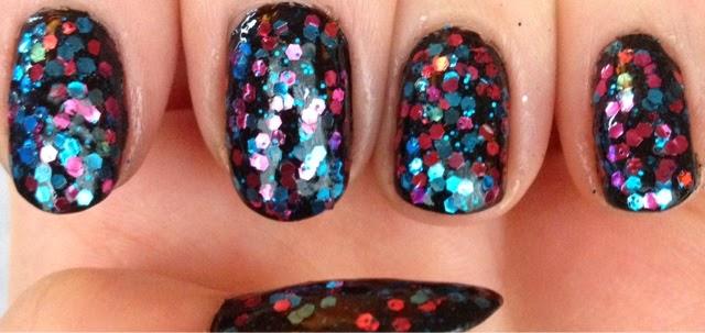 Tophop Nail Polish Glitter Polish