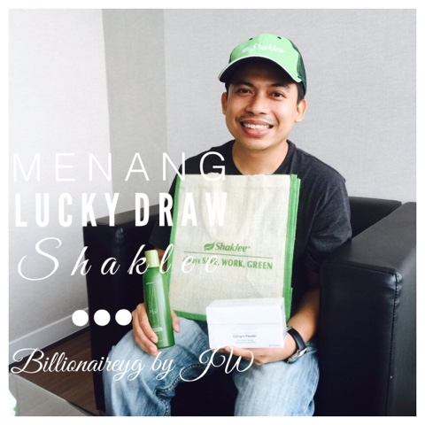 Menang Lucky Draw Shaklee