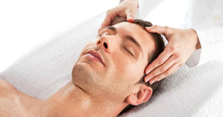 Image result for head oil massage procedure