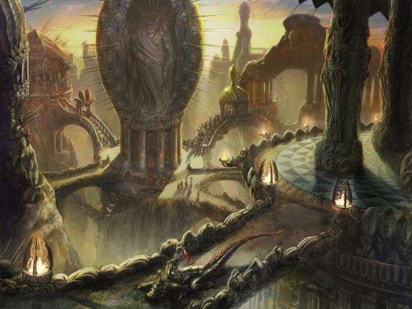 Dream Of Magick Landscape 9, Magical Landscapes 3