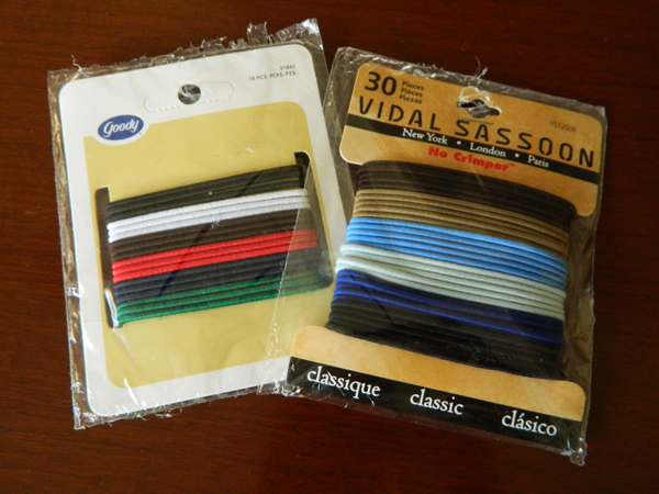 goody hair bands ponytail holders