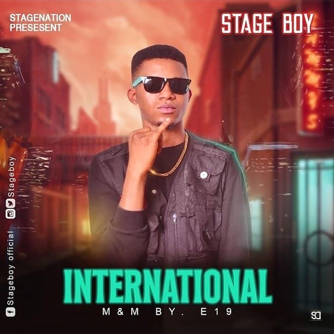 MUSIC: Stageboy - International