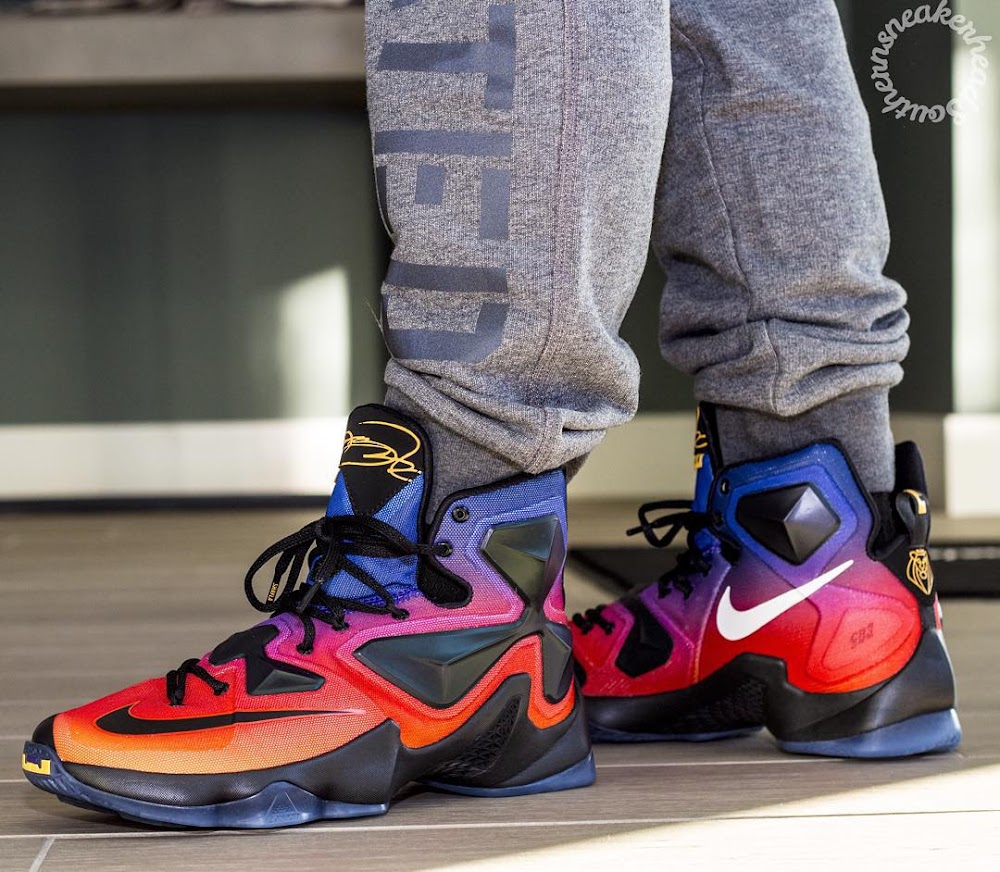 finest selection e074c d4451 ... A Rare Look at the Doernbecher LeBron 13 Out in the Wild ...