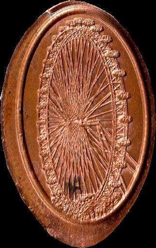 London Eye Penny