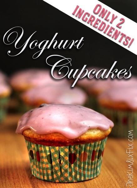 Yoghurt cupcakes