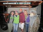 The Paseo del Lobo outreach crew with our Alpine Pedaler driver (Photo by K. Hanson)