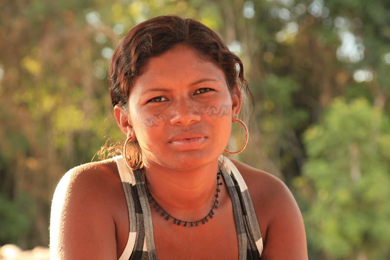 Leiliani Juruna (Photo: Atossa Soltani)