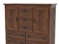 Hickory Wardrobe Dressers