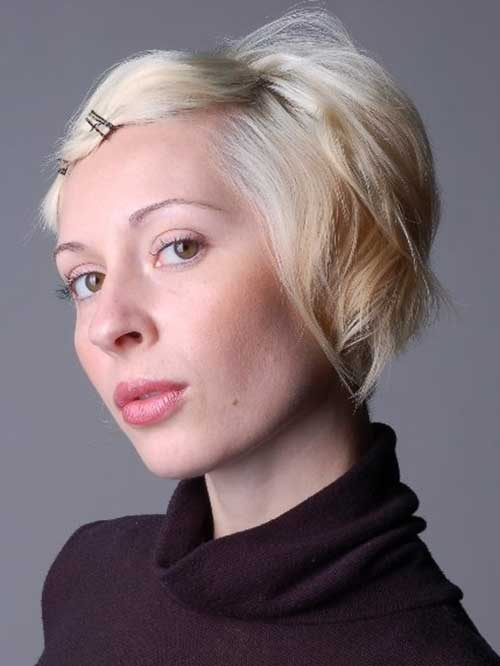 Short Hairstyles With Bobby Pins Styles Art