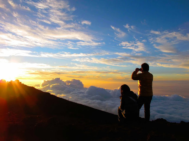 New Year's Eve. Haleakala sunset, Haleakala National Park. From ​Lassoing the Sun: A Year in America's National Parks
