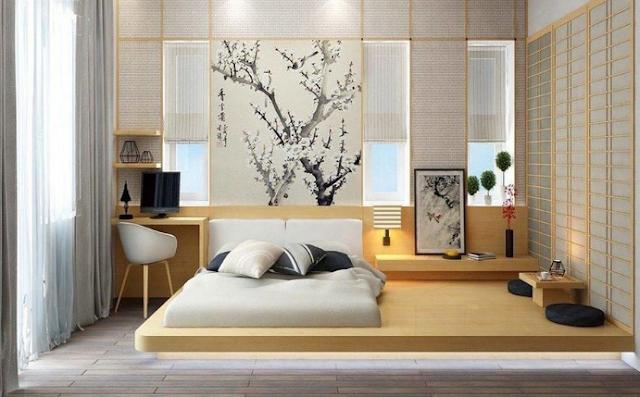 Các mẫu thiết kế nội thất phòng ngủ master đẹp