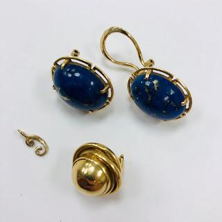 14K Gold Broken/Missing Jewelry Lot