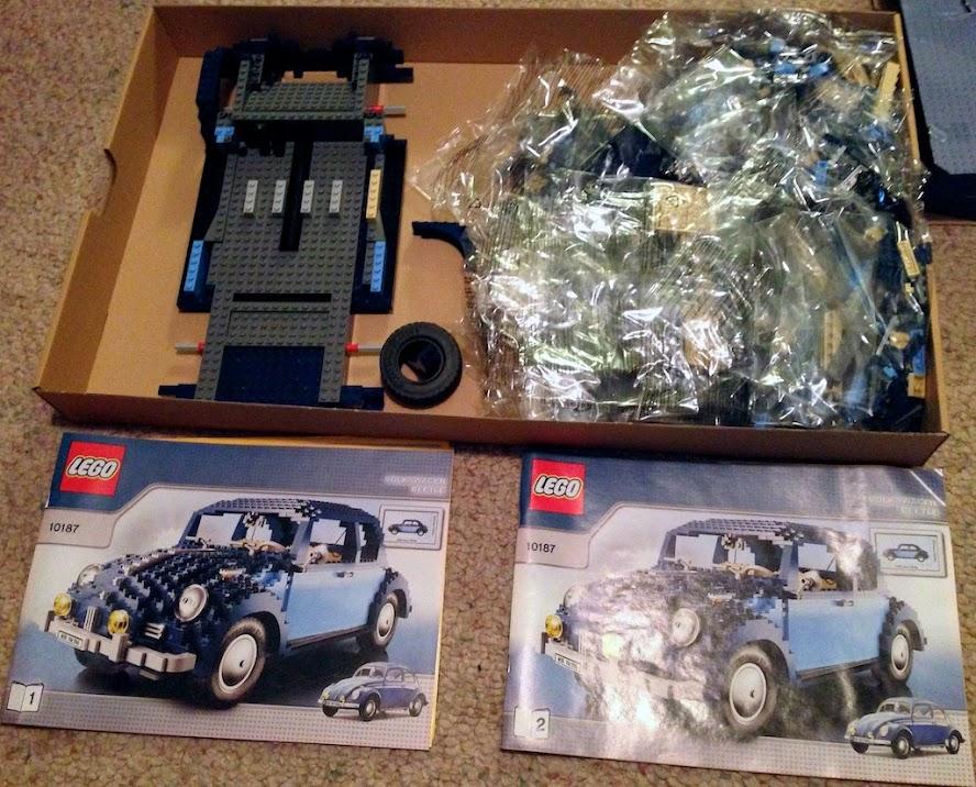 Vwvortex Lego Beetle Set