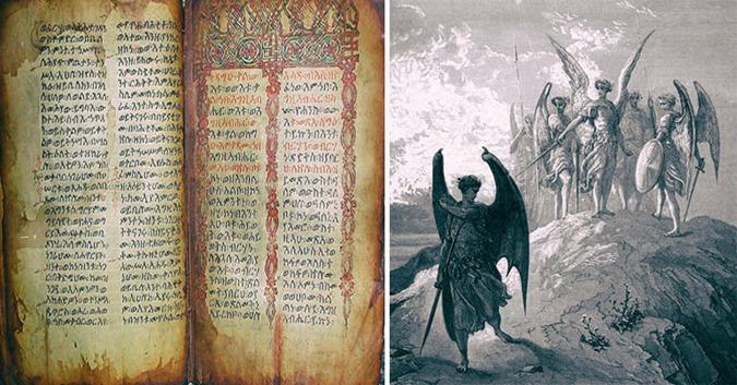 O livro de Enoch conta a história de Nephilim