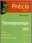 Livre physique Thermodynamique MPSI PDF
