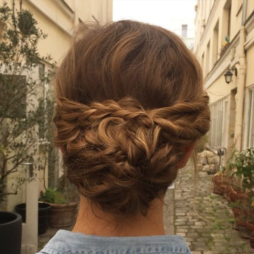The trendy Wedding Hairstyles For And include hair color 2017 10