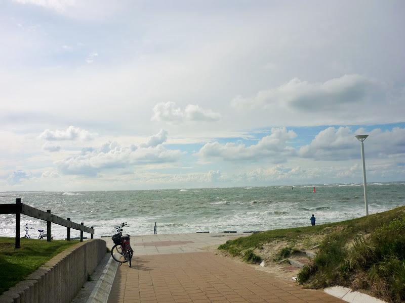 Storm over zee