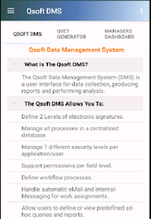 Qsoft DMS- screenshot thumbnail