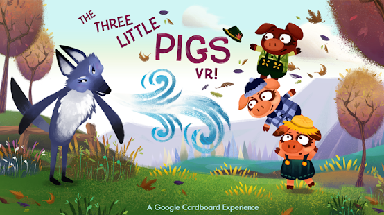 Three Little Pigs VR- screenshot thumbnail