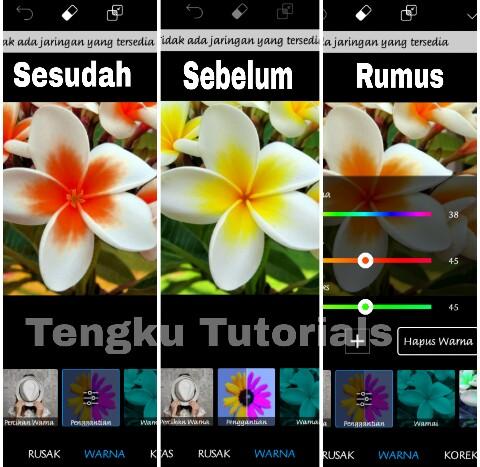 Cara Edit Foto Dual Tone di Picsart Android