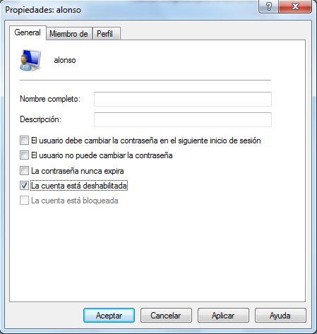 Recomendaciones importantes para los equipos clientes agregados al dominio Windows