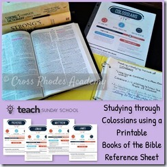 Printable Reference Sheets